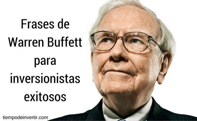 frases de warren buffett para inversionistas
